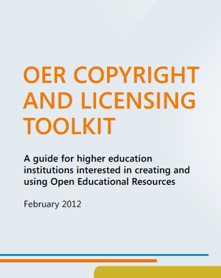 OER Copyright and Licensing Toolkit