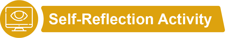 Self Reflection Activity